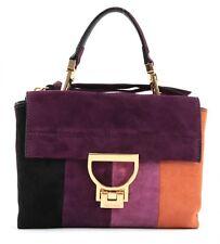 COCCINELLE Crossoverbag Umhängetasche Handtasche Tasche Violett Orange Neu