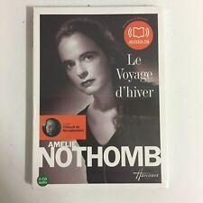 Amelie Nothomb Le Voyage D'hiver 2 cd Audio neuf sous blister