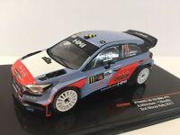 HYUNDAI NG 20 WRC MONZA 2017 NEUVILLE MIKKELSEN  1/43 ixo