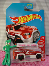 2017 Hot Wheels RESCUE DUTY✰red/white;EMERGENCY✰Target Exclusive RED EDITION #4