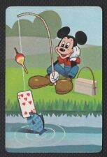 Swap Playing Cards 1 1960's Rare Japanese Nintendo Disney Mickey Mouse A128