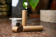 ECO FRIENDLY PUSH UP CONTAINERS LIP BALM & SOLID PERFUME TUBE CARDBOARD 15 ml