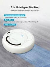 Smart Auto Robot Vacuum Cleaner Multifunctional 3-In-1 Electric Rechargeable