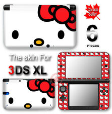 Hello Kitty Classic Cute SKIN VINYL STICKER DECAL COVER for Nintendo 3DS XL