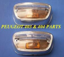 Peugeot 404 Turn Signal lens Set x2