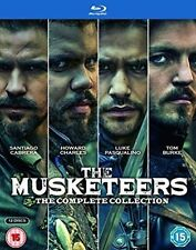 The Musketeers Series 1 to 3 Complete Collection Blu-ray UK BLURAY