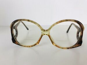 Glasses round Reactolite quick Vintage 1970/'s Brown clear Photochromiques glass made in France