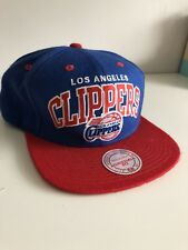 Authentic Los Angeles Clippers Mitchell & Ness Snapback Hat