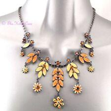 Collar de bisutería color principal bronce de cristal