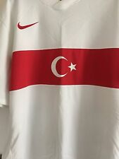 SALE! Turkey 100% Official Soccer Jersey/Shirt  XL Used Once.