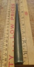 "ANTIQUE 7-3/4"" COPPER LIGHTNING ROD SLIP OVER TIP TOPPER FARM BARN FINIAL"