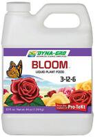 Dyna Gro Liquid Bloom 8 oz, 1 Quart, 1 Gallon - ounce nutrients fertilizer qt