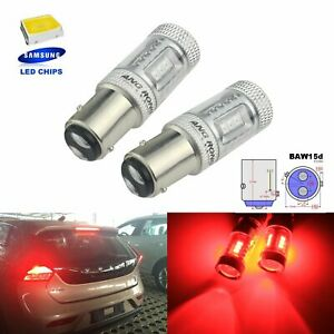2x 567 BAW15d PR21/5W LED Turn Signal Fog Reverse Tail Stop Brake Light Bulbs
