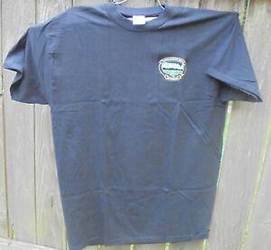 Copenhagen-Skoal  OUTDOORS T-Shirt BLACK color- X Large-new in pkg.USA