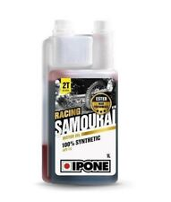 HUILE MOTEUR MOTO 2T 100%25 SYNTHESE IPONE SAMOURAI RACING- 1L