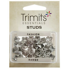 5x Studs Claw Pyramid Silver 7x7mm 50 PK Sewing Craft Tool Hobby Art UK