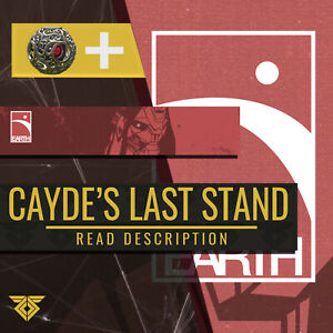 Destiny 2 Caydes Last Stand Emblem + Gilded Shell PS4/XBOX/PC READ DESCRIPTION!