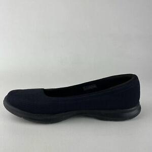 Skechers Women's Goga Mat Technology Patent Dark Navy Blue Size 8