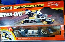 Matchbox 1998 Mega-Rig Police Command Center Set NEW - Helicopter / Truck