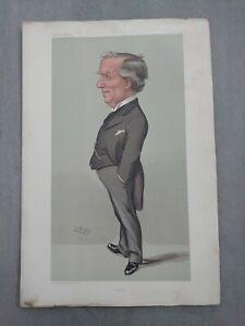 Antique Vanity Fair Spy 1904 Brains Art Print RT Hon Herbert Henry Asquith MP