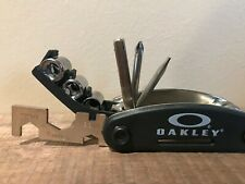 RARE OAKLEY MULTI TOOL PROMOTIONAL WITH SOCKETS OPEN ENDS ALLEN SET SCREWDRIVERS