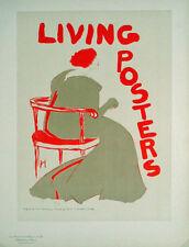 Les Maitres de L'Affiche pl.87 Living Posters by Frank Hazenplug Original Poster