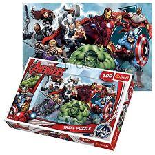 Trefl 100 pezzi bambini ragazzi Marvel Avengers ATTACCO Incredibile Hulk puzzle