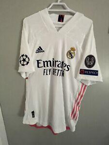 Martin Ødegaard 2020-2021 Real Madrid Champions League Jersey. (L)