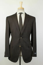 NWT BELVEST Brown Cashmere Blend 2 Button Sport Coat Size 52/42 R Drop 6 $1995