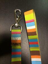 Tepper Jackson Dog Leash (48 inches) Groovy Stripe Print