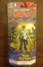 The Walking Dead McFarlane comic series 3 Rick Grimes action figure RARE!