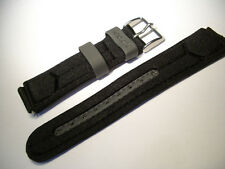 18mm Nylon Sport Band schwarz - Tec.one
