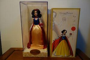 Poupée Blanche Neige Designer Snow White Doll Limited Edition Limitée Disney