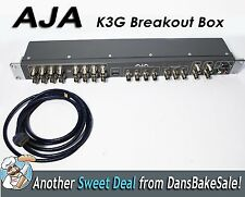 """AJA K3G 19"""" 1RU External Breakout Box for Kona 3G card with HDMI Out Cable"""
