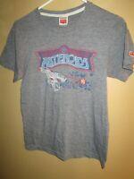 Men's Homage Atari ASTEROIDS Arcade Games Graphic T-Shirt XS Gray LOVED