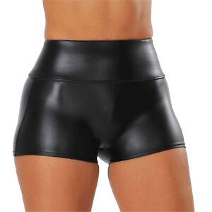 Women Hot Pants Butt Lifting High Waist Shorts Ruched Back Boyshort Clubwear