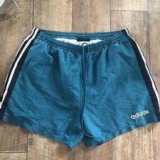 Vintage Adidas Sports Shorts Men's W34-40 D8 L XL Rare Gym Fitness 90s Football