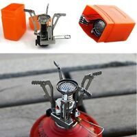 Mini Camping Stoves Folding Outdoor Gas Stove Cooking Picnic Split Stoves