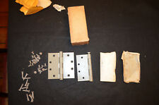 NOS Henry Soss 4 1/2 X 4 1/2 Heavy Duty Full Mortise Steel Butt Hinges (4)