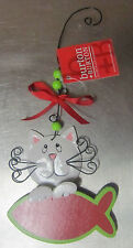 CUTE CAT Holiday Christmas Ornament