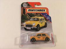 Matchbox 1964 Austin Mini Cooper Yellow Taxi Diecast Model Car