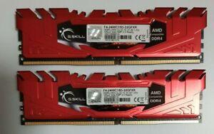 G.Skill Flare-X 32GB (2x16GB) Ryzen Compatible DDR4 2400mhz