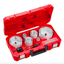 Milwaukee Hole Dozer Electrician Bi Metal Hole Saw Set 19 Piece Kit Drill Bits