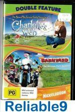 Charlotte's Web + Barn yard Widescreen 2DVD Sealed Reg4 2009 Universal Australia