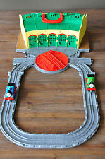 THOMAS and Friends Take Along & N Play SODOR Tidmouth sheds  - Excellent cond