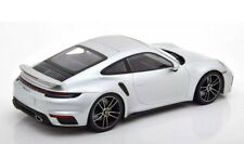 New 1/18 Minichamps 2020 Porsche 911(992) Turbo S Silver Dealer Box