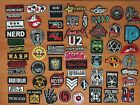 DIY Music Metalcore Rock Biker Motorcycle Sew Iron On Embroidered Patch Applique