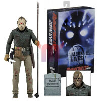"""7"""" NEC A Friday the 13th Jason Voorhees Ultimate  Action Figure Deluxe Ver"""