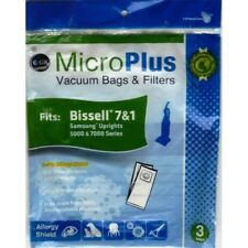 GK MicroPlus For Bissell Microplus 3 Ply Ecological Vacuum Bags Pack of 75