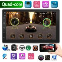 """Android 8.1 7"""" 2Din Quad Core Car Stereo Radio GPS Navigation MP5 Player FM WiFi"""